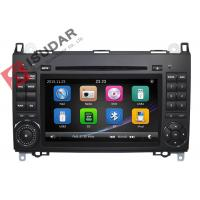 Quality B200 Car DVD Player For Mercedes Benz 2 Din Touch Screen Car Stereo With Wince System for sale