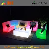 Outdoor color changing LED sectional sofa