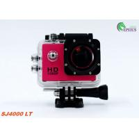 Quality Muti Color Waterproof 1080P HD Action Camera SJ4000 30M Mini For Extreme Sport for sale