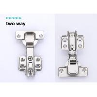 China Furniture kitchen 52 g - 60 g Nickel Two way normal cabinet hinges on sale