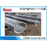 Quality CUSTOM SCH80 Seamless Steel Tube , ASTM SA210 Gr.C High Pressure Steel Pipe for sale