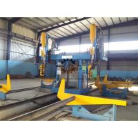 Quality Gantry H Beam Welding Line Stable Running With Auto - Recovering System for sale