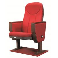 Quality Mordern Red Commercial Theater Seating High Density PU Added Fire Resistant for sale