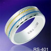 China New Arrivals Resin inlay tungsten rings fashion tungsten wedding rings his&her fashion jewelry rings on sale