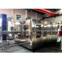 China 8000BPH Glass Bottle Filling Machine Production Line For Soda Sparkling Water on sale