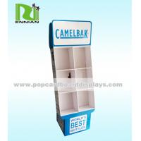 Creative Corrugated Cardboard Pallet Display Racks Weight Light