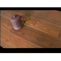 Quality Tawny Bamboo Fiber Wood Effect Floor Tiles Crystal Surface For House Decoration for sale