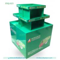 Point Of Purchase Folding Corrugated Cardboard Pallet Display For Supermarket