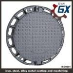 Quality BS EN124 Ductile Iron Cast Iron Manhole Covers Dimensions for sale