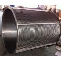 Quality Reversed Profile Wedge Wire Screen with Drum for sale