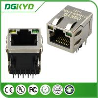 Quality DGKYD211Q066FA1A5 1000M industrial rj45 connector with led , 1 Port for sale