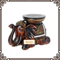 Buy cheap elephant stool changing his shoes stool imitation gift wholesale home G065AM from wholesalers