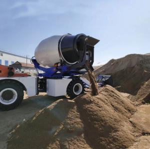 Quality 130L Diesel Fuel 116HP 85kw 3.5m³  Concrete Mixer Truck for sale