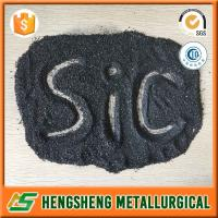 Quality The factory supply good quality and pretty competitive price Black SiC powder granules silicium carbide for sale