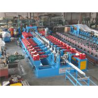 Buy Cr12 C Purlin Roll Forming Machine , Corrugated Iron Sheet Making Machine 550mm Coil Width at wholesale prices