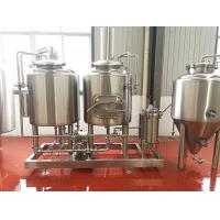 Buy cheap 200L Microbrewery Equipment Electrical Heated Small Brewery Equipment from wholesalers