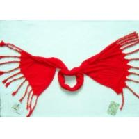 China New Designer Lady Scarf with Beads (CR-TLSC00017) on sale