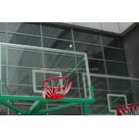 "Quality Inground Basketball Hoops 54"" Tempered Glass Backboard / Glass Basketball Goals for sale"