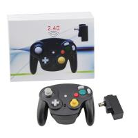 Quality Black Nintendo Wireless Gamecube Controller Ergonomic Grips For Comfortable Gameplay for sale