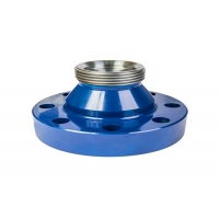 Quality Api 6a Oilfield 15000 Psi Fig 1502 Pipe Flange Adapter Material 4130 With Weco Union for sale