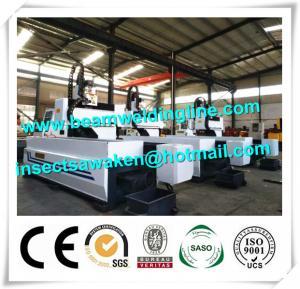 Quality Longitudinal CNC Drilling Machine , 6m CNC Drilling Machine For Metal Sheet for sale