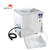 China SUS0304 Tank 8.5gallons Industrial Ultrasonic Parts Cleaner for sale