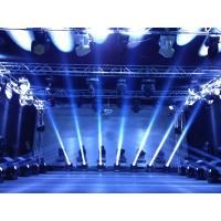 Quality 16CH DMX512 Stage Effect Lighting LED Rotation Beam Light For KTV for sale