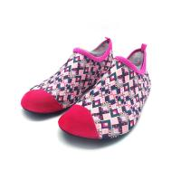 Quality Flexible Red Aqua Foot Water Shoes Outside Pool And Beach Shoes Cozy Feel for sale