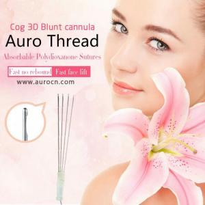Quality Popular Best Selling No surgery blunt needle pdo 3d cog thread v lift thread Skin Rejuvenation pdo for sale