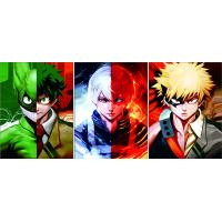 Quality Hero Academy 0.6mm PP 3D Lenticular Printing Poster for sale
