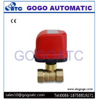 """Quality DN20 G3/4"""" Quick Installation Electric Ball Valve For Apartment Heater System AC220V CR02 3 Wires Control for sale"""
