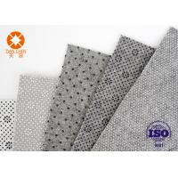 China Grey White Nonwoven Needle Punched Fabric Felt For Shoes Lining Fabric Material on sale