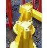Buy cheap Self Erecting Hammer Head Tower Crane 10 ton load capacity Building crane,QTZ from wholesalers
