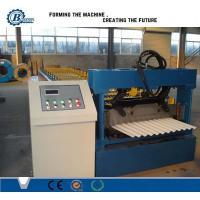 China Hydraulic Corrugated Metal Panel Roofing Sheet Forming Machine 5m / min on sale