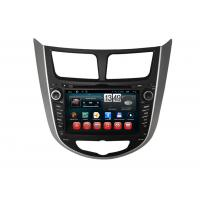 Quality Hyundai Verna Accent Solaris Android DVD Player Central GPS Navigation BT TV for sale