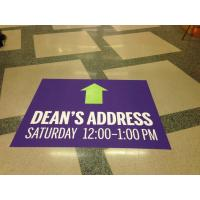 Best advertising floor mat stickers wholesale