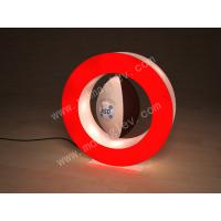 Best Red RoundMagnetic Levitating Display , 360 Degrees Rotating wholesale