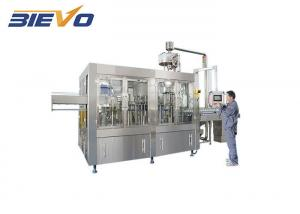 Quality Electric Steam Heating 6000bph Juice Filling Machine for sale