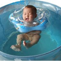 China Inflatable baby swimming neck ring for baby bath on sale