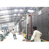 China Durable Vacuum Insulating Glass Production Line 50 Mm PLC Control System on sale