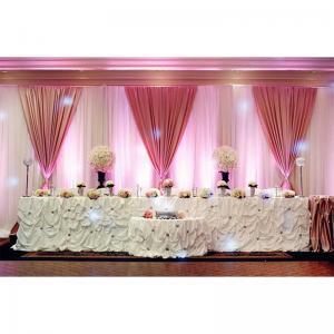 China Christmas Wedding Backdrop Backdrop Ceiling Drape Fabric Square Pipe Railing on sale