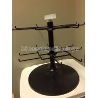 Best Black 2 - Tier Spinner Rack Display Stand 16 Hooks Swivel Display Rack For Products wholesale