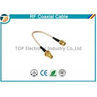 Buy RG36 RF Coaxial Cable SMA Male Plug To SMA Female Bulkhead Connector at wholesale prices