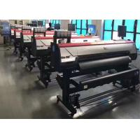 China High Speed Roll To Roll Large Format Printing Machine 1600m With Double DX5 Print Heads on sale