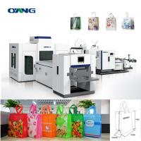 Quality 70-130 G.S.M 28 KW PLC Control Non Woven Box Bag Making Machinery For 3D Bag for sale