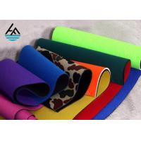 China Waterproof Neoprene Fabric Sheets Polyethylene Rubber Sheet For Sports Products on sale