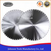 China Laser Welded Diamond Wall Saw Blades Reinforced Concrete Cutting with High Lifetime on sale