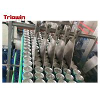 Quality Customized Two Piece Can Filling Line SUS304 Tin Can Filling Machine 60KVA for sale