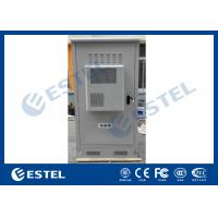 Quality Waterproof Outdoor Telecom Cabinets , Outdoor Equipment Cabinet With Air Conditioner for sale