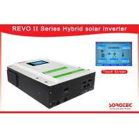 Buy cheap 3-5kw Hybrid On Grid Inverter / Mppt Solar Inverter 4500w Touch Screen from wholesalers
